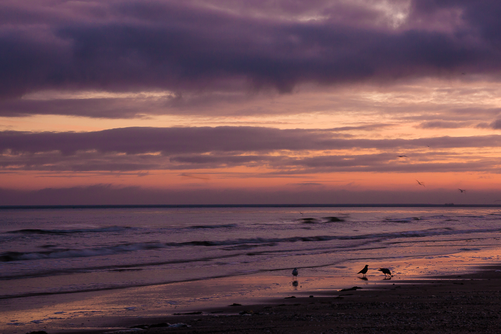 Bałtyk, wschód słońca