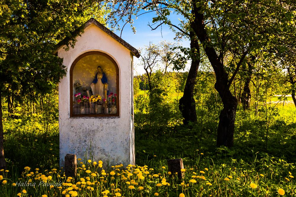 krzyże i kapliczki Podlasia